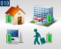 様々な使用用途による特性を持つ蓄電システム